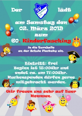 Kinderfasching am 02.03.2019
